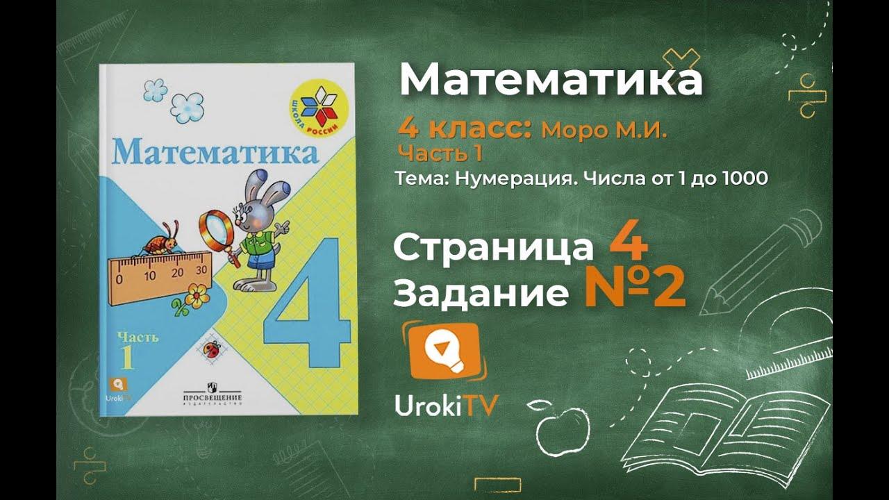 Домашние задание по математике 4 класс л.в.занкова