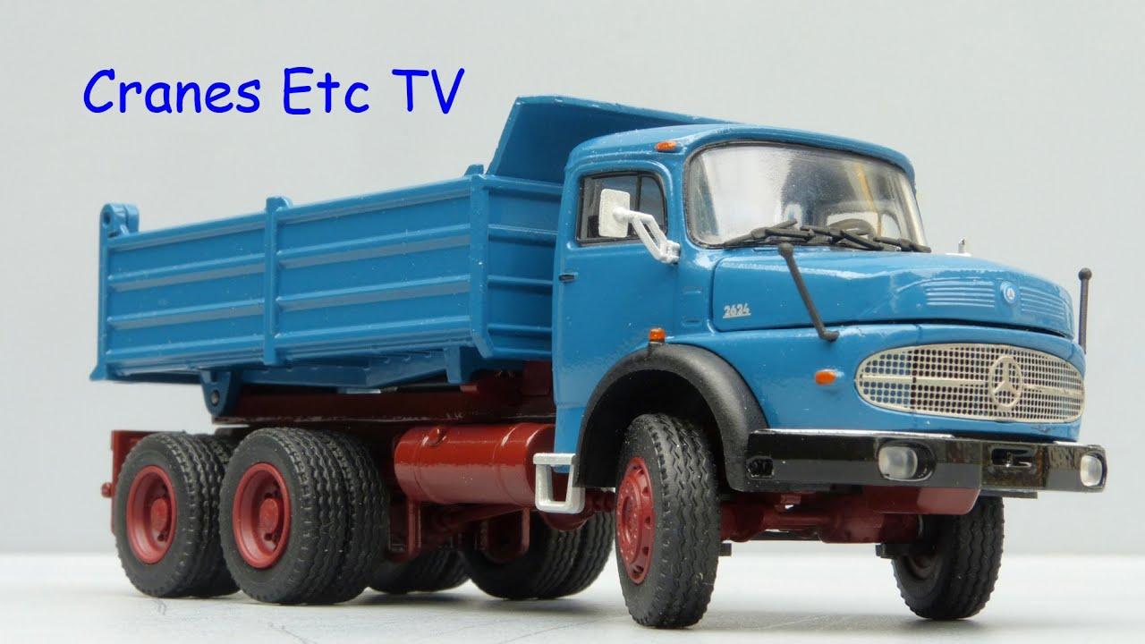 conrad mercedes benz lak 2624 tipper by cranes etc tv. Black Bedroom Furniture Sets. Home Design Ideas