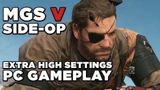 Prisoner Rescue PC Gameplay - Metal Gear Solid V: The Phantom Pain