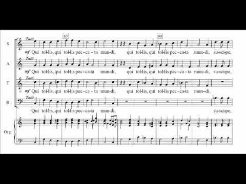 M.-A. Charpentier - Messe de Minuit (Messa per la mezzanotte di Natale) - Gloria (score)