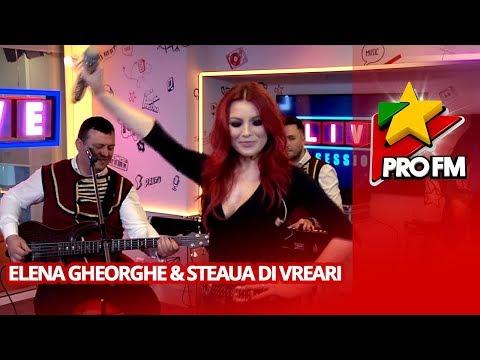 Elena Gheorghe & Steaua di Vreari  - Gionli a meu | ProFM LIVE Session