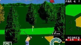 World Class Leaderboard Golf Gameplay HD✔ Sega Genesis Mega Drive let's play Walkthrough