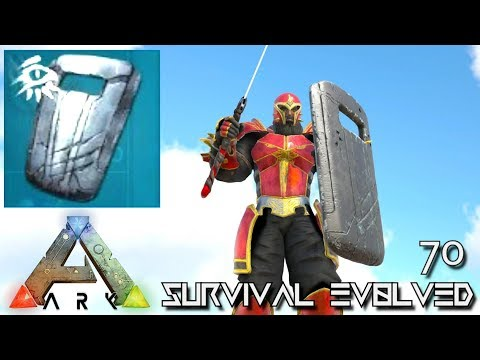 ARK: SURVIVAL EVOLVED - EICHORST'S SHIELD CHIEFTAIN ARMOR E70 !!! ( ARK EXTINCTION CORE MODDED )