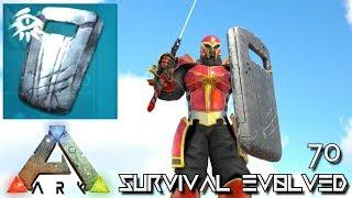 ARK: SURVIVAL EVOLVED - EICHORST'S SHIELD CHIEFTAIN ARMOR E70 !!! ( ARK EXTINCTION CORE MODDED )