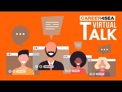 2021 CAREER4SEA Talk 1 - Working in shipping in the post-COVID era