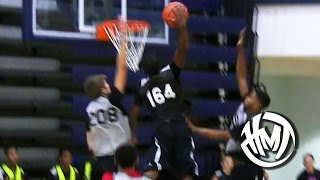 14 Year Old Jalen Preston Dunks ALL Over Kid At CP3 Camp!
