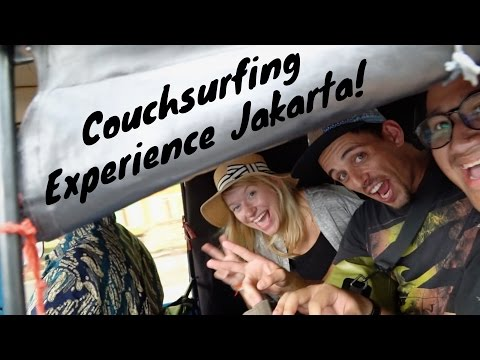 COUCHSURFING REVIEW - IS IT FREE? IS IT SAFE? CS EXPERIENCE IN JAKARTA, INDONESIA!