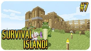✅ MINECRAFT - SURVIVAL ISLAND - TREASURE MAP HUNT! Episode 7