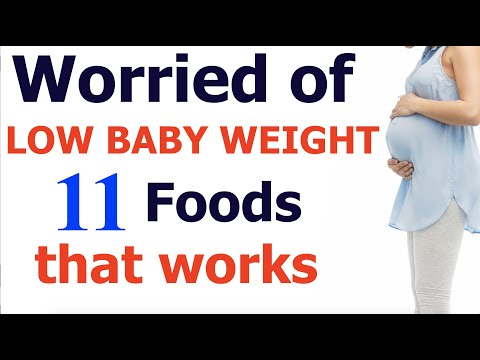 Foods helpful to increase baby weight in womb | Foods for baby development in womb during pregnancy