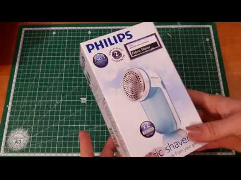Машинка для удаления катышков Philips GC026/00 Распаковка, обзор и тест