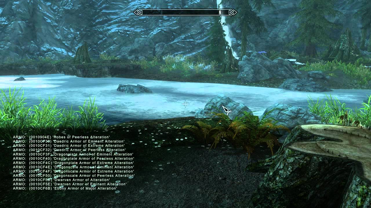 Skyrim Mods : How To Console Command - YouTube