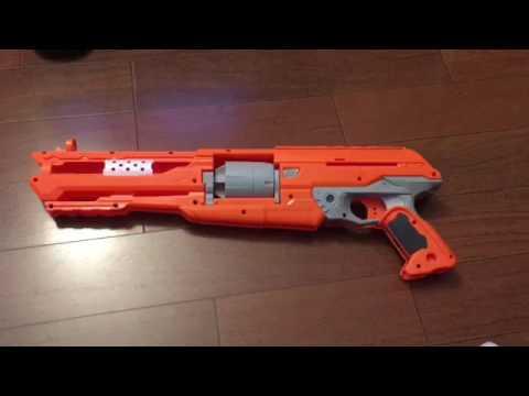 Twin Spring Nerf Alphahawk Mod - YouTube  Twin Spring Ner...