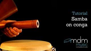 Samba on conga, free lesson