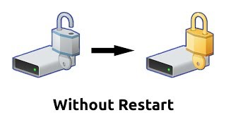 BitLocker Auto Lock? Relock a encrypted (BitLocker) drive without restarting PC.