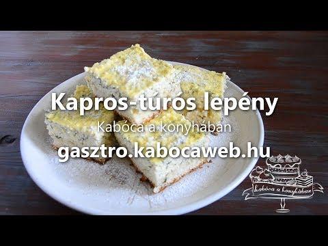 Kapros-túrós lepény recept videó - Kabóca a konyhában letöltés