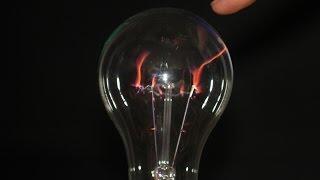 Плазмовий кулю з лампи розжарювання