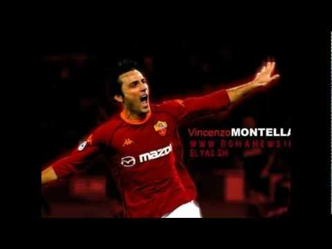 Vincenzo Montella; An airplane for ever - By: Elyas SH - www.AsRoma27.com