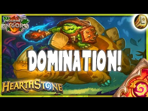 HEARTHSTONE 🌟 DOMINATION CONTINUES | CONTROL ZOO PALADIN Deck Tech | Ungoro Furo Legend
