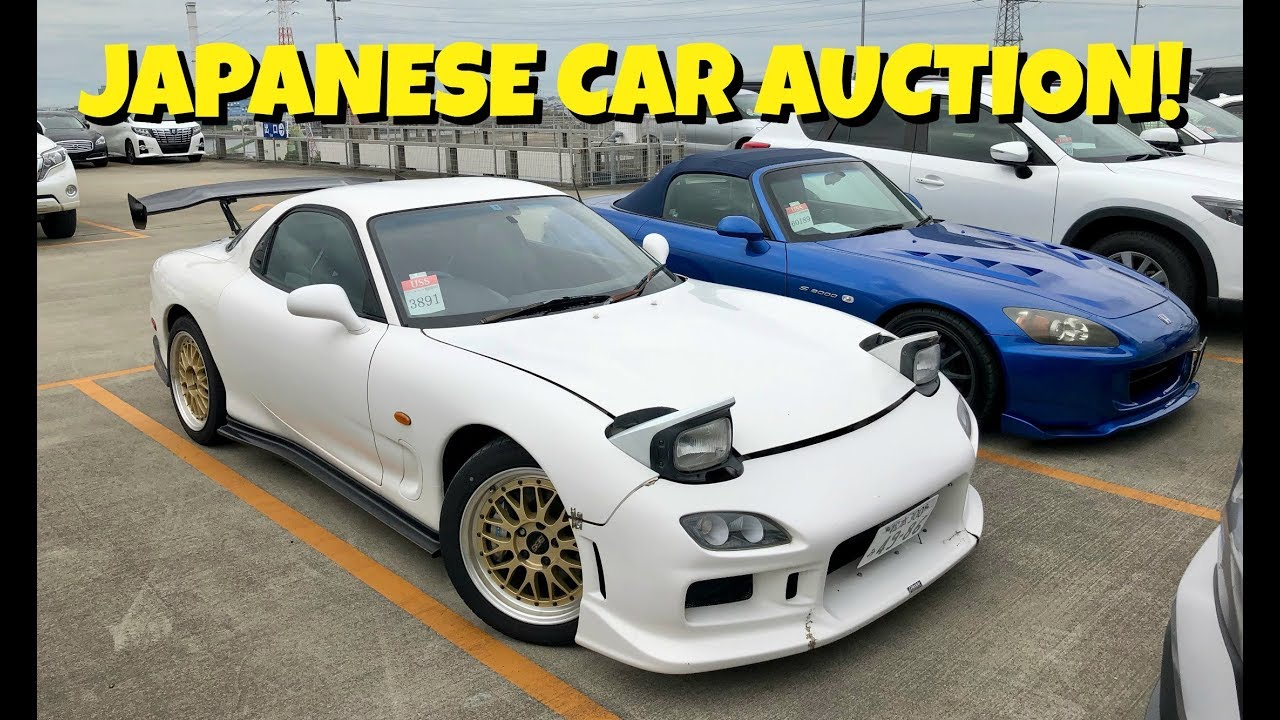 Car Auction Usa >> Super Clean Usa Legal Rx 7 Jdm Auction Hunting
