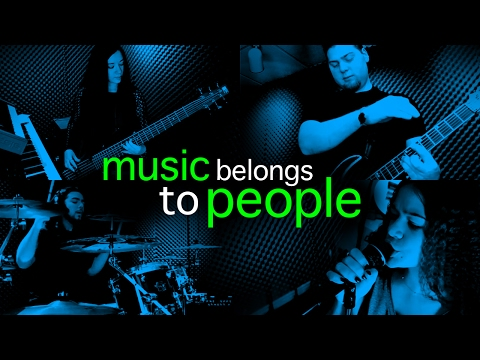 Music belongs to people... not corporations