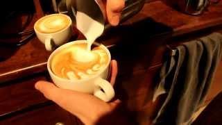 Latte Art By Barista Patrick
