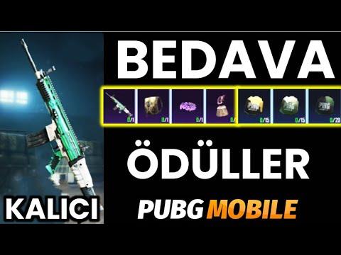 BEDAVA KALICI SCAR-L DESENİ | BEDAVA SET | BEDAVA SANDIK PARÇACIKLARI | PUBG Mobile