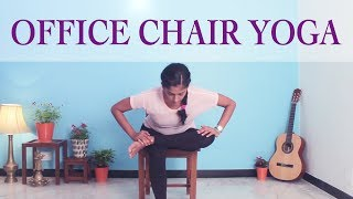 Office Yoga Workout I Yoga to Strengthen your Legs I Yogalates with Rashmi