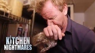 World's Worst Fridge Makes Gordon Sick - Kitchen Nightmares