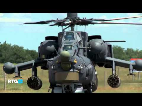 Mi-28N Russia Attack helicopter