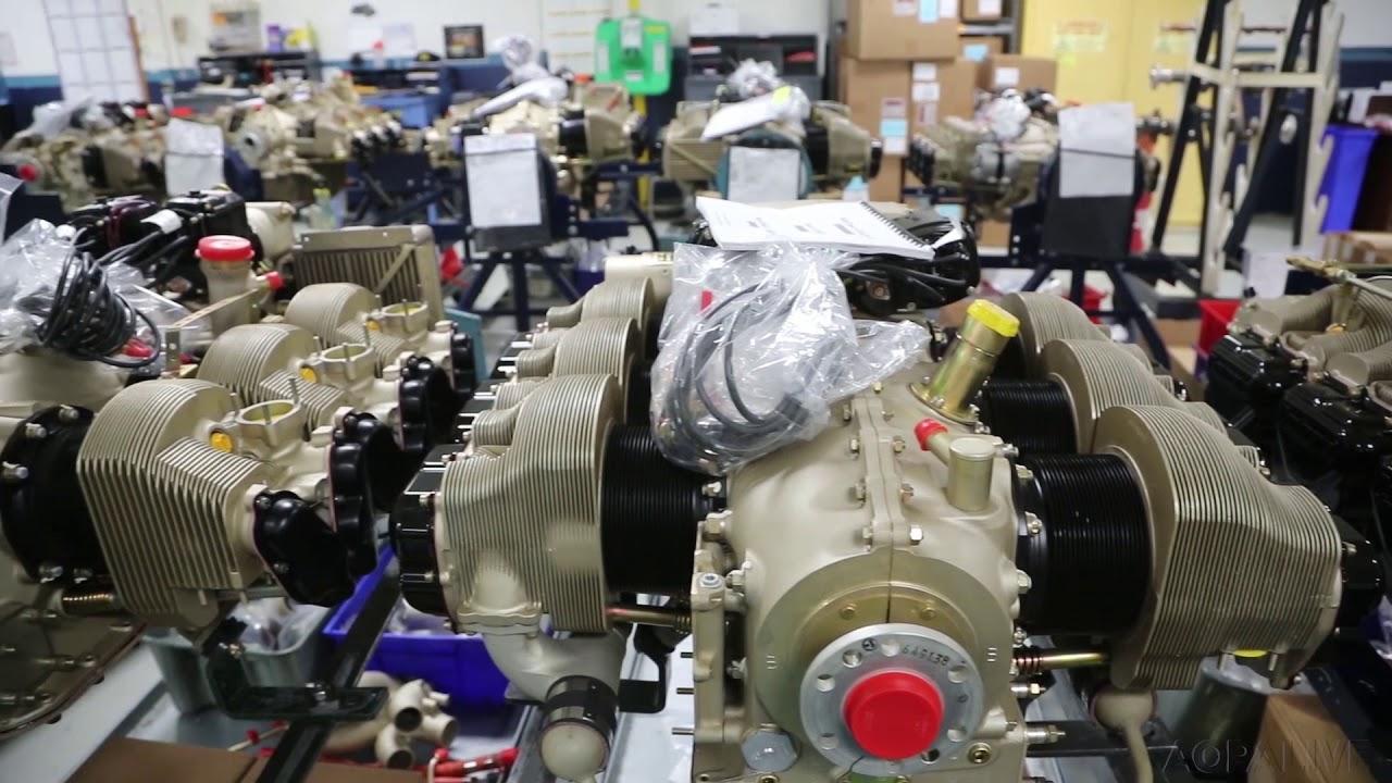 Continental Motors Modernizing Production