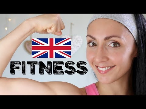 FITNESS - Learn British English Vocabulary & Phrases with English Like a Native