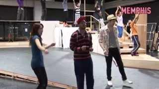 ブロードウェイミュージカル『メンフィス』の稽古場映像が届きました! ...
