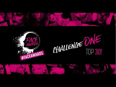2018 FACE AWARDS FIRST CHALLENGE!    Starring Laura Sanchez