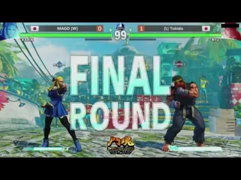 Street Fighter 5 Tournament - TWFighter 2016 - Grand Final - MAGO (Karin) v Tokido (Ryu)