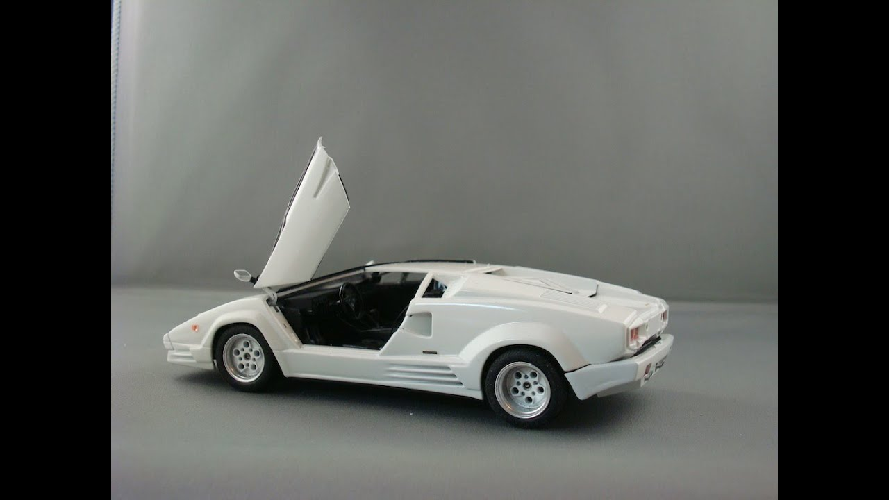 Fujimi Countach Completion Youtube