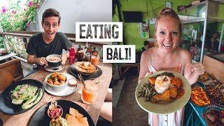 Bali FOOD TOUR! - Local Nasi Campur, Vegan Food, Babi Guling & MORE (Canggu)