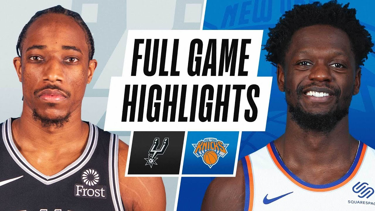Download SPURS at KNICKS | FULL GAME HIGHLIGHTS | May 13, 2021