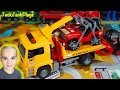 Bruder Tow Truck + Jeep Surprise Toy Unboxing and Review: Big Toy Trucks for Kids Collection
