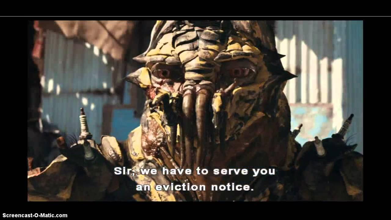 District 9 Film Study