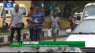 ASUU Strike: Industrial Action Takes Effect In Various Institutions