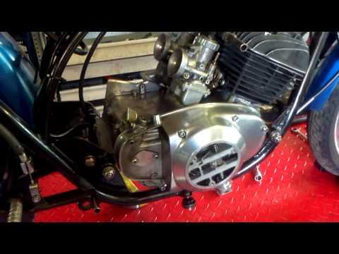 Suzuki T20 Engine Reassembly (2) - finishing it off