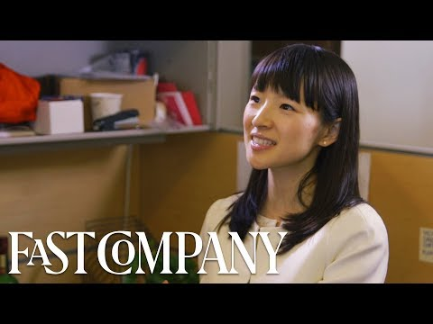 Marie Kondo Tidies My Desk (And It's Life-Changing) | Fast Company