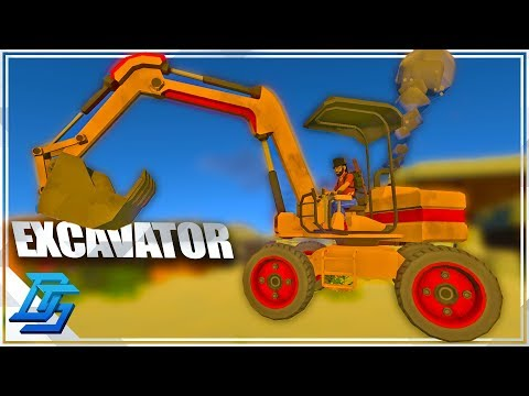 BIGGEST MACHINE ON THE PLANET, DIGGING VEHICLE, EXCAVATOR GAMEPLAY! - ECO Global Survival - Pt.9