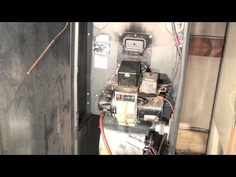 How keep the oil furnace running