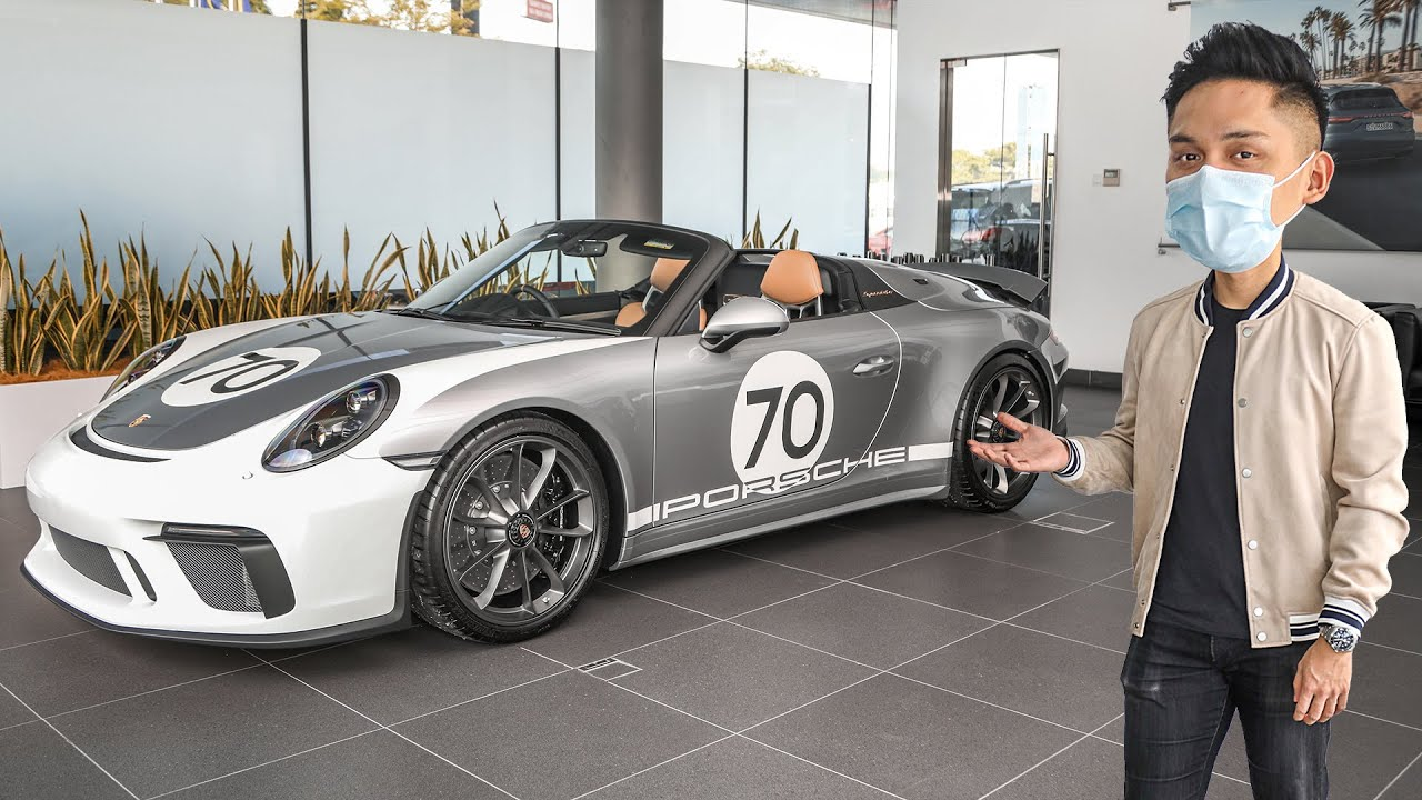 FIRST LOOK: 991 Porsche 911 Speedster in Malaysia – from RM2.7 million