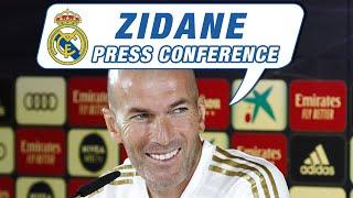 Zidane's press conference ahead of Atlético de Madrid