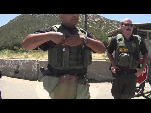 DHS Inland Checkpoint Search and Seizure - Campo Border Patrol Station, Pine Valley, CA, 31 May 2013