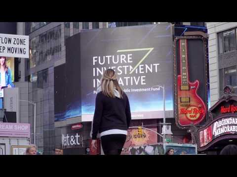 Future Investment Initiative at Times Square