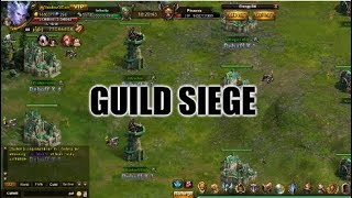 Wartune :- Guild Siege Gameplay, Tips And Strategies (Gameplay As 70 Million BR Knight)
