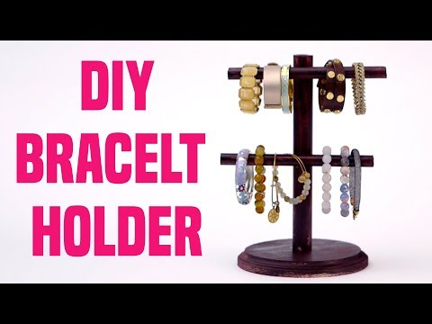 DIY Bracelet Holder: Cute Jewelry Organizer You Can Make Yourself